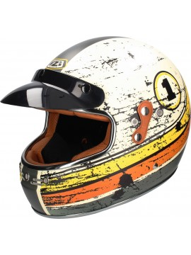 NZI full face helmet Flat Track Dirt