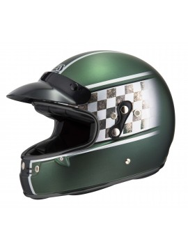 NZI capacete integral Flat Track Smoking Joe