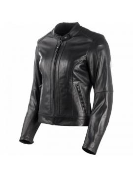 DXR blusão couro mulher Charlize preto