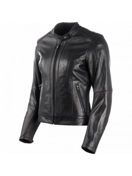 DXR lady leather jacket Charlize black