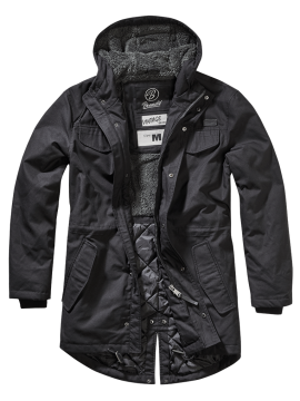Brandit parka Marsh Lake preto