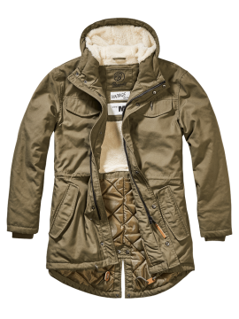 Brandit parka Marsh Lake olive