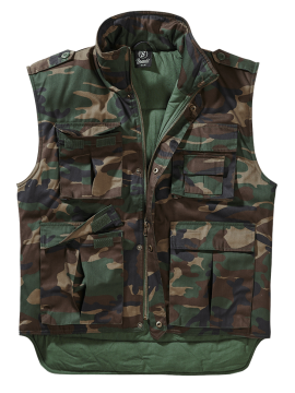 Brandit vest Ranger woodland