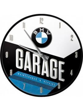 Nostalgic-Art relógio parede BMW Garage