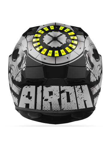 AIROH helmet Valor Akuna Yellow_1