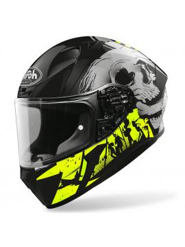 AIROH capacete Valor Akuna Yellow_2