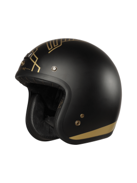 ORIGINE capacete jet Primo Ten black