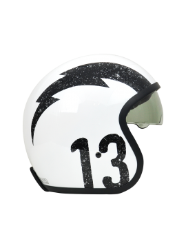 ORIGINE capacete Sprint Gasoline white