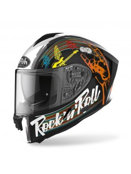 AIROH helmet Spark Rock N Roll black