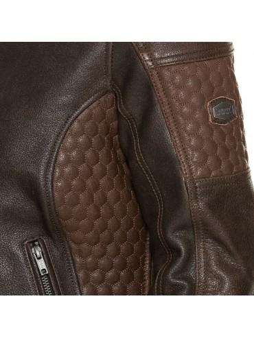 SPIRIT MOTORS lady leather jacket 1.0 brown_3