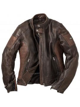 SPIRIT MOTORS lady leather jacket 1.0 brown_2