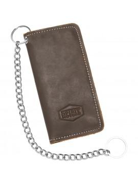 SPIRIT MOTORS leather wallet