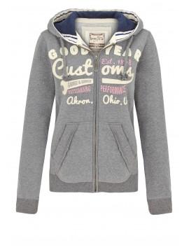 GOODYEAR sweatshirt com fecho mulher EMPORIA