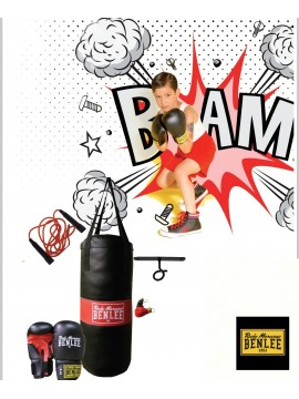 BENLEE PUNCHY Boxing Bag & Gloves Set KIDS