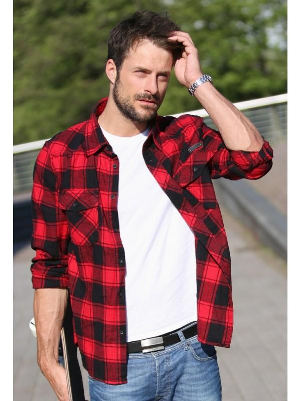 Brandit camisa flanela Check Shirt