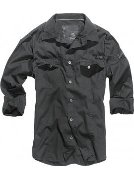 Brandit camisa SlimFit black