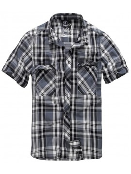 Brandit camisa ROADSTAR_black-anthracite