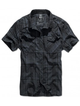 Brandit camisa ROADSTAR_black-blue