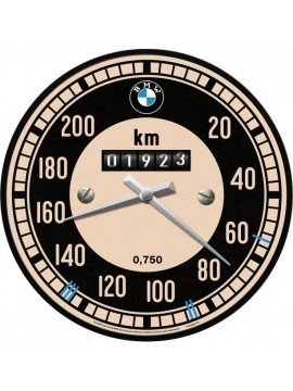 Nostalgic-Art Wall clock BMW – Speedometer