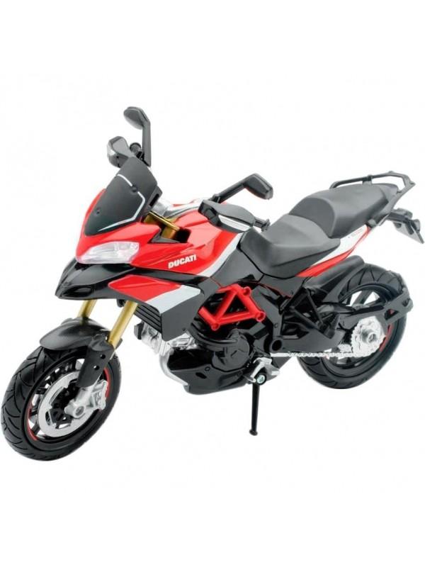Moto Ducati Multistrada 1200 S em escala 1:12 da New Ray