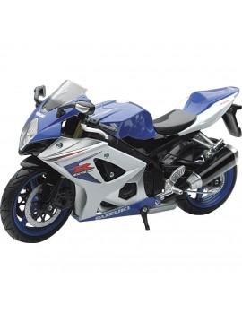 Moto Suzuki GSX-R 1000 em escala 1:12 da New Ray
