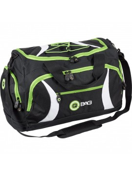 QBAG SPORT BAG BLACK/GREEN