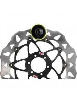 ABUS Disc Lock Granit Victory X-Plus 68 yellow half