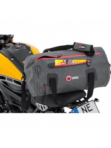 QBag roll 10 grey waterproof 35 liter