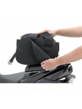 QBAG SEAT BAG SET 02 OVAL BLACK 22 LITERS STORAGE SPACE
