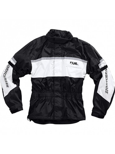 FLM SPORTS MEMBRANE RAIN JACKET 1.0 WHITE