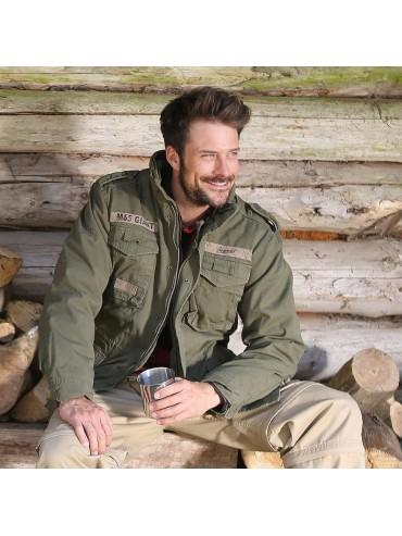 Brandit jacket M65 GIANT olive_1