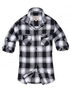 Brandit camisa de flanela mulher AMY
