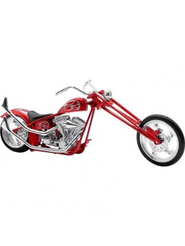New Ray moto miniatura chopper ( 24cm x 11cm)