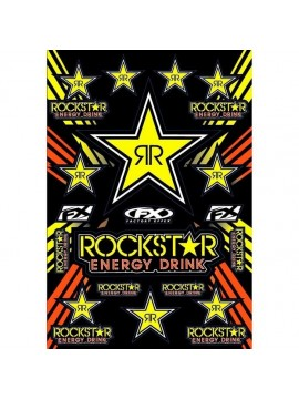 BÜSE FX-STICKER ROCKSTAR ENERGY