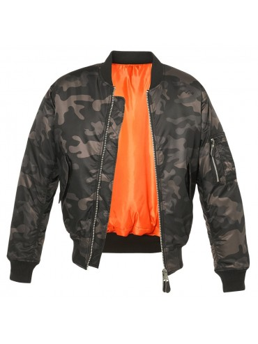 Brandit jacket MA1 CAMO