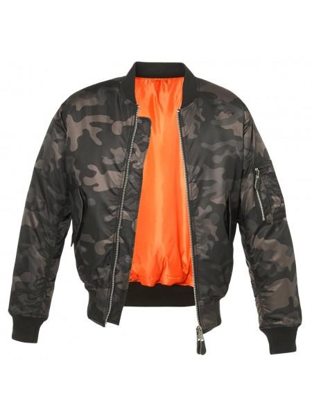 Brandit blusão Bomber MA1 CAMO