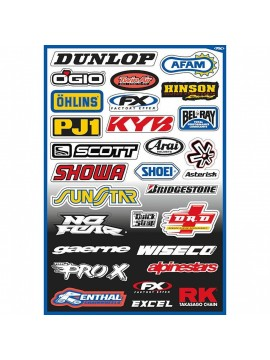 ACERBIS STICKER SETS SPONSOR BRANDS