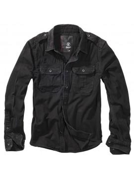 Brandit Vintage Shirt longsleeve black
