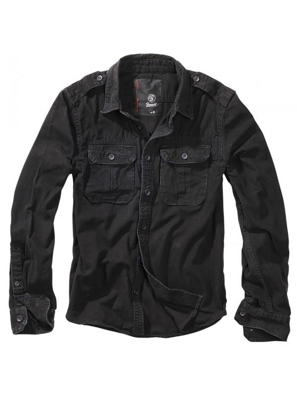 Brandit camisa Vintage preto