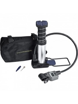 BIKERS DREAM PROFESSIONAL MINI FOOT PUMP DIGITAL