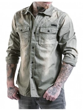 Brandit denim shirt HARDEE