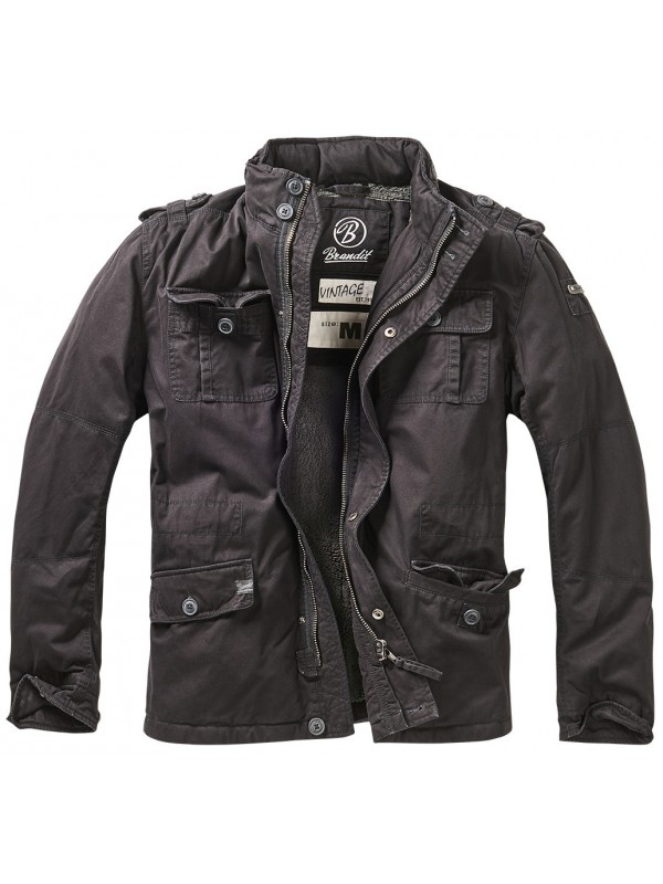 Brandit winter jacket Britannia black