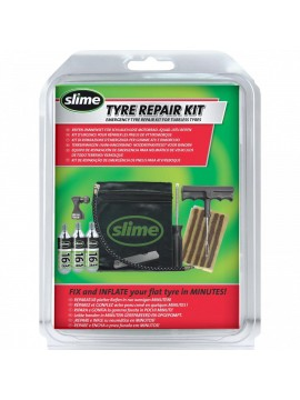 Slime emergency tire repair kit for tubeless tires
