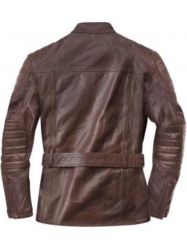 Black-Café casaco de couro KERMAN