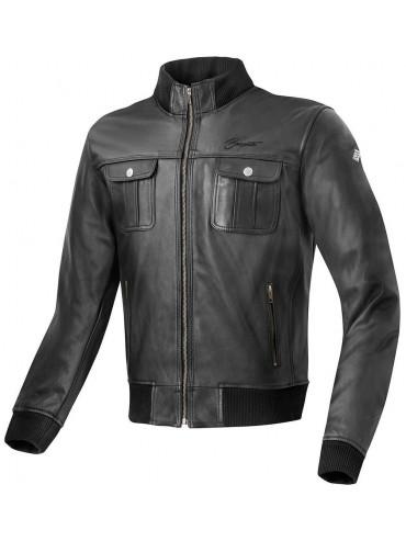 BOGOTTO leather jacket BROOKLYN black