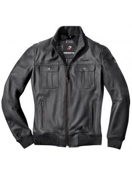 BOGOTTO leather jacket BROOKLYN black_2