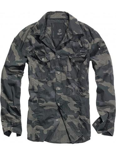 Brandit camisa SlimFit darkcamo