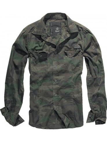 Brandit camisa SlimFit woodland