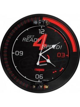 Relógio Parede Booster Motorcycle Circuit