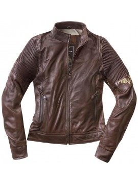 Black-Café London leather jacket lady AMOL